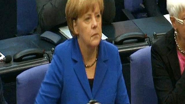 أنغيلا ميركل المستشارة الألمانية