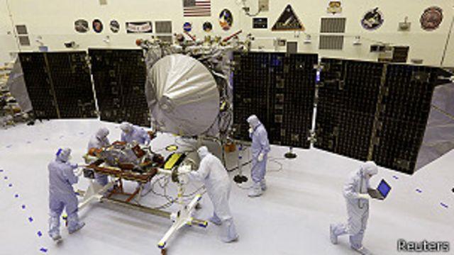 Nasa envió cápsula para estudiar la órbita de Marte