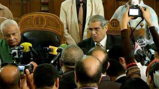 المستشار محمد أمين القرموطي رئيس محكمة جنايات القاهرة