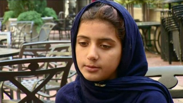 نبيلة رفيق الرحمن حفيدة إحدى ضحايا طائرة دون طيار