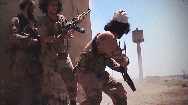 مسلحين في سوريا