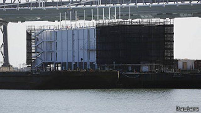 Google resuelve el misterio de la barcaza de la bahía de San Francisco