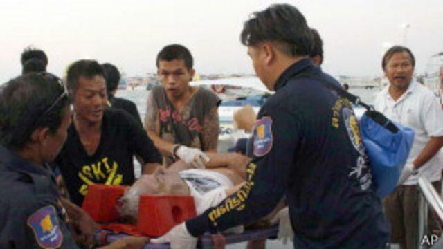 泰國芭提雅發生沉船 一名中國遊客死亡