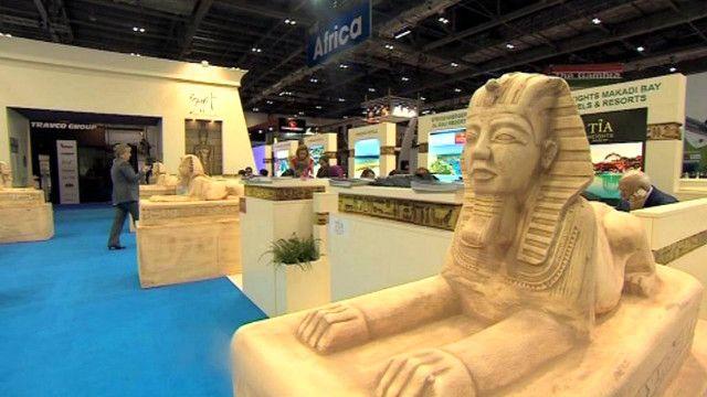 الجناح المصري في معرض السياحة والسفر في لندن