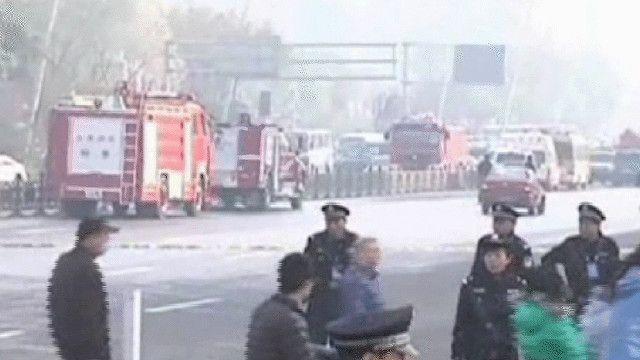 موقع التفجيرات خارج مقر للحزب الشيوعي الصيني في شانسي
