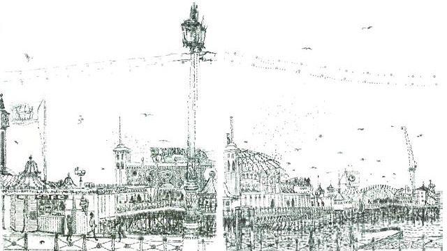Dibujo de Keira Rathbone