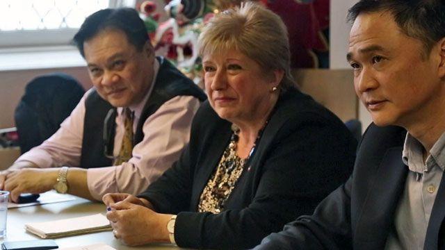 伦敦中国城商户代表与边境署官员会谈