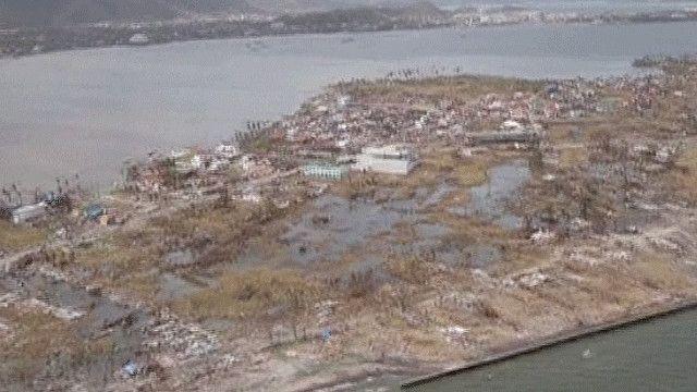 صورة لجزيرة سمر شرق الفلبين