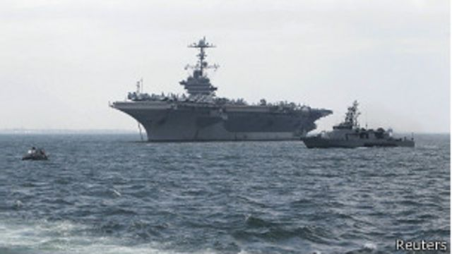 EE.UU. envía a Filipinas portaviones USS George Washington