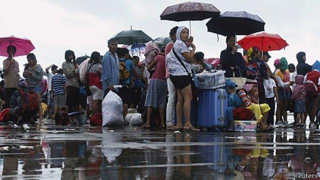 Supertifón en Filipinas: la lucha por sobrevivir en estado de calamidad
