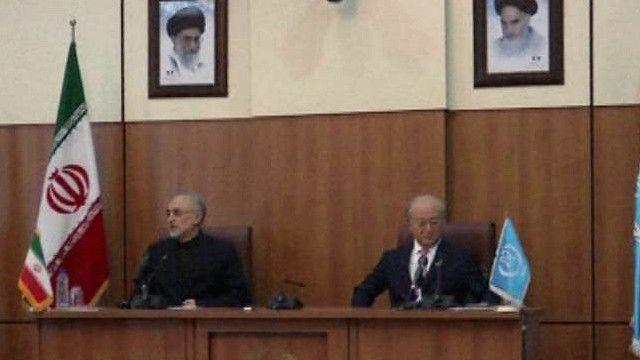 إيران تتوصل إلى اتفاق تعاون مع وكالة الطاقة الذرية