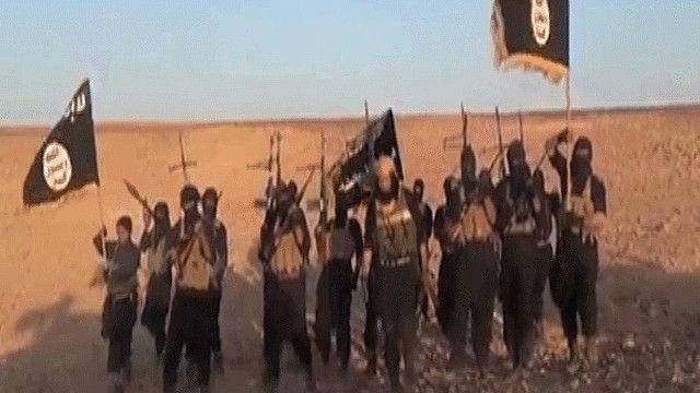 عناصر من تنظيم الدولة الإسلامية في العراق والشام