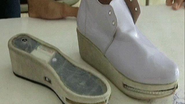 الحذاء المضاد للتحرش الجنسي