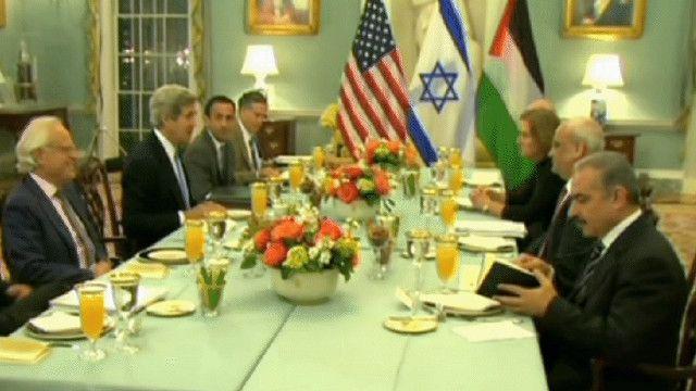 الوفد المفاوض الفلسطيني مع الامريكي