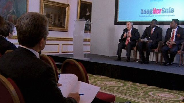 مؤتمر عقد في لندن تحت شعار حافظوا على سلامتها