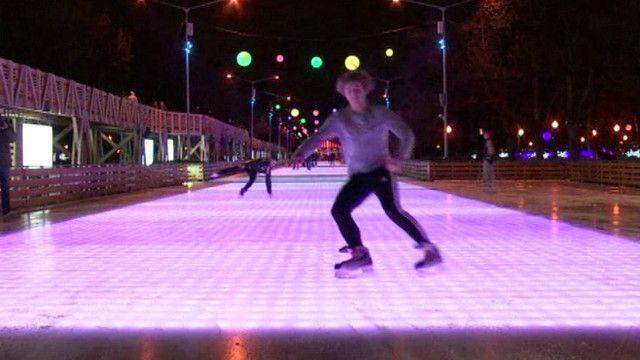 موسكو تفتتح أكبر حلبة للتزلج في أوروبا