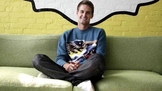 El sueño del creador de Snapchat, la app de mensajes que se autodestruyen