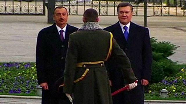Янукович и Алиев