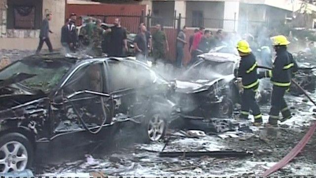 Взрывы в Бейруте: кадры c мест нападения