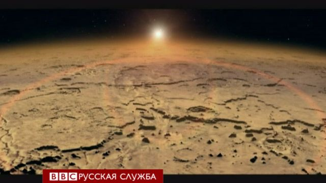 Марсианская атмосфера, иллюстрация