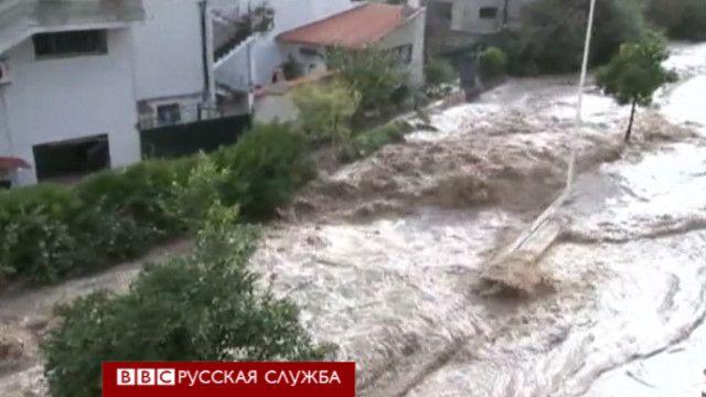 Наводнение на Сардинии