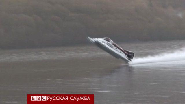 Крушение скоростной лодки на озере Коннистон