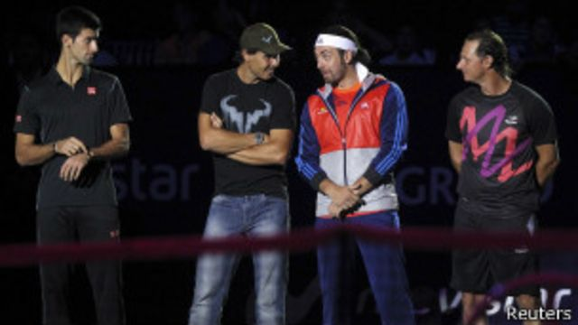 Djokovic vence a Nadal en despedida de Massú