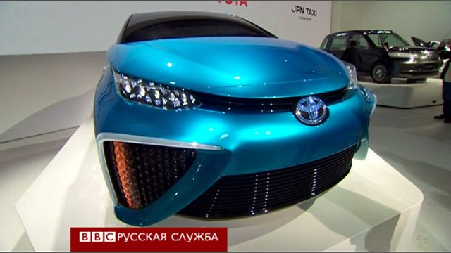 Электроавтомобиль Toyota