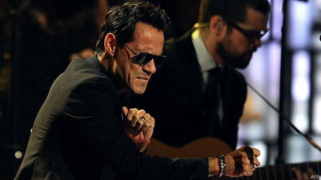 Marc Anthony se corona en los Latin Grammy
