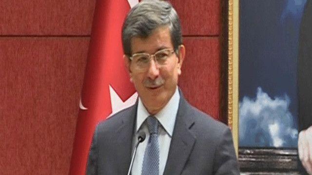 أحمد داوود أوغلو وزير الخارجية التركي