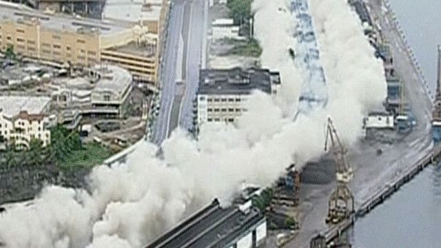 عملية تفجير الطريق الجسري