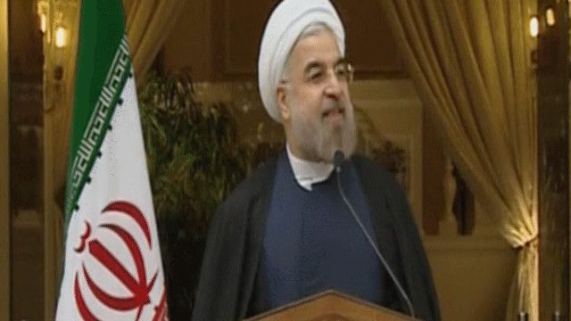 حسن روحاني الرئيس الإيراني