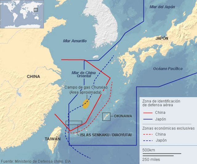 EE.UU., invitado inevitable a la disputa entre China y Japón
