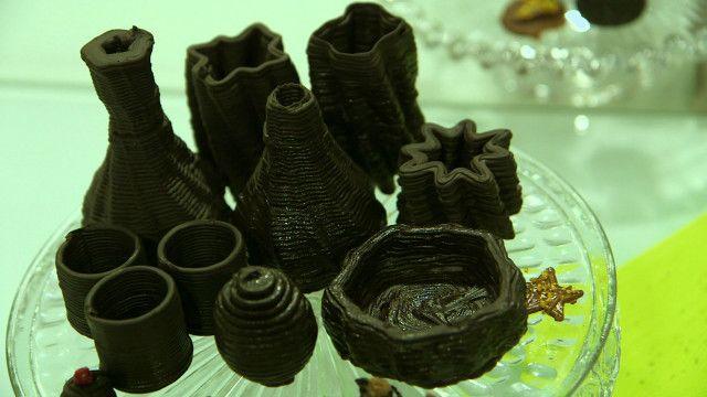 utensílios de cozinha impressos em 3D