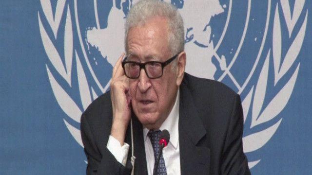 الأخضر الإبراهيمي المبعوث الدولي إلى سوريا