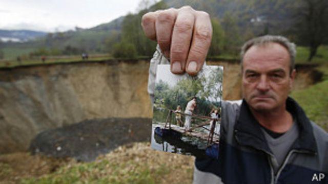 El misterio de la laguna que desapareció en Bosnia