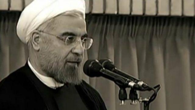 الرئيس الإيراني حسن روحاني في شريط فيديو موسيقي