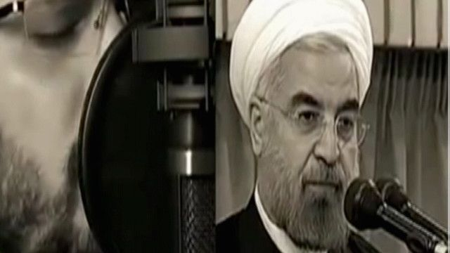 صور الرئيس الإيراني حسن روحاني في فيديو موسيقي