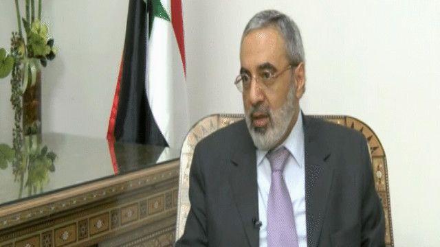 عمران الزعبي وزير الإعلام السوري