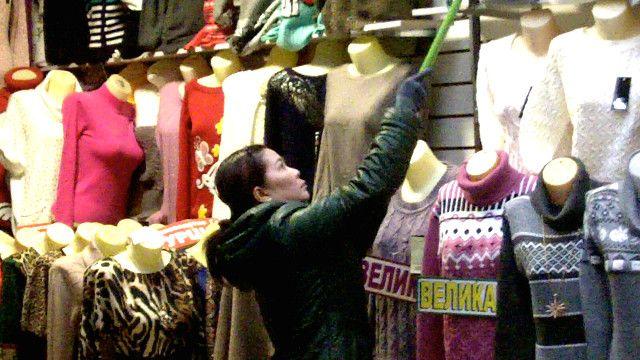 Người Việt buôn bán ở Moscow