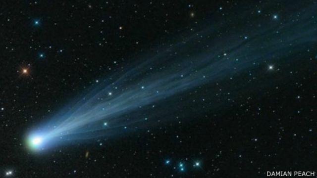 Комета Айсон приближается к Солнцу