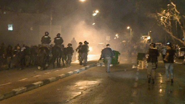 الشرطة الاسرائيلية في حيفا
