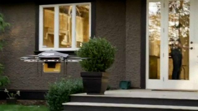 Drone da Amazon | Foto: BBC