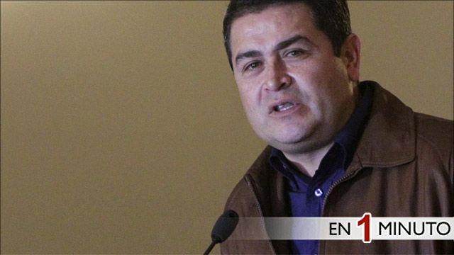 Presidente electo de Honduras, Juan Hernández