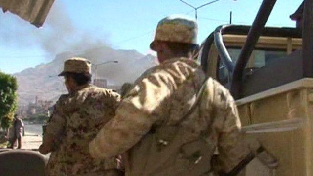 Нападение на министерство обороны Йемена