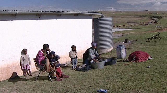عائلة جنوب افريقية سوداء