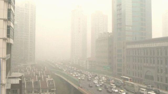 ثلوث الهواء في شنغهاي