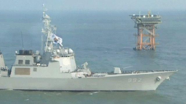 سفينة حربي جنوب كورية