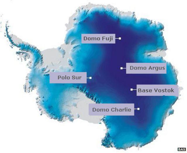 ¿Cómo es el lugar más frío del planeta?
