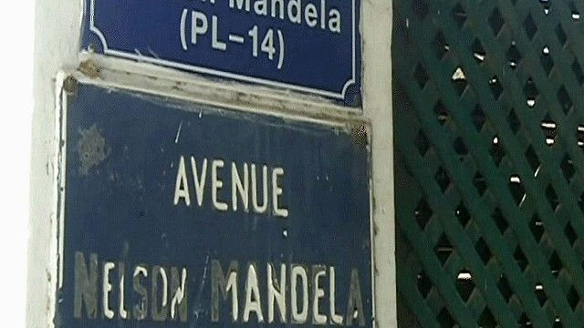 أحد شوارع يحمل اسم مانديلا في السينغال